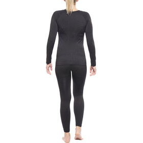 axant Seamless Functional Underwear Set LS Women black